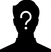 silhouette with question mark, mystery person, could this be you? Apprentice vehicle technician, full training