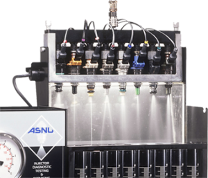 ASNU Injector cleaning machine